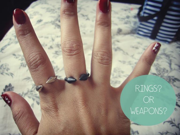 spikes rings