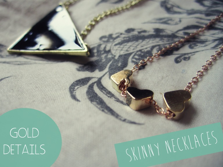 skinny necklaces